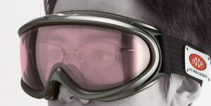 大きいサイズのメガネを掛けておられる方用のスキー用オーバーブラスの紹介。
