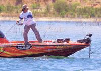 偏光グラスは、釣りどきに水中をハッキッリ見るサポートをするサングラスです。