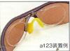 高い高性能をもったスポーツサングラスを、眼鏡が必要な方にも使用できる提案。