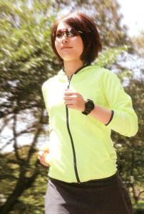 マラソン時に集中力を高めるサングラス