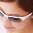 レディ-ス用スポーツサングラス選びは、女性にあったサングラス設計が必要です。