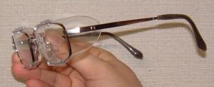 めがねを掛けている方のスポーツ時のスポーツメガネ用花粉症対策スポーツめがねのご紹介