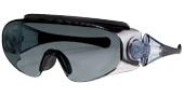 ハイキングどきの眼鏡を掛けている方の便利なオーバーサングラスのご紹介。