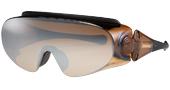 ハイキングどきのメガネを掛けている方の便利なオーバーサングラスのご紹介。