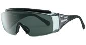 ウォーキングどきの眼鏡を掛けている方の便利なオーバーサングラスのご紹介。