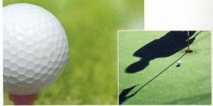 ゴルフどきに最適な見え方