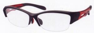 野球時と普段メガネを兼用できるフレームAT-6006