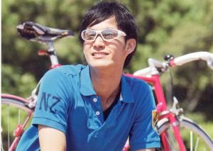 ロードバイク、マウンティンバイク、シティバイク等の自転車時に適したメガネフレーム