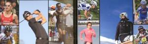 スポーツ用サングラスのレンズカラー選び方は、天候、時間等によって選ぶことが大切。