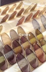 偏光レンズ&偏光グラスのカラーバリエーションにはすべて見え方に違いがあります。