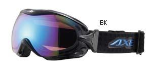 大きいサイズの眼鏡を掛けている方にも快適に装用できる偏光レンズタイプのゴーグル