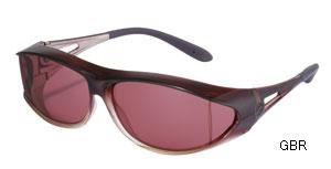 眼鏡を掛けたままサングラスを掛けるスポティオバー偏光グラスのご提案。