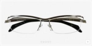 スポーツグラス度入りをおしゃれな普段眼鏡と兼用してかけるご提案。