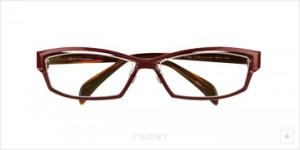 度入りスポーツメガネデザインとふだんメガネデザインをコラボ。