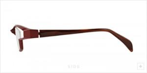 度つきスポーツメガネデザインとふだんメガネデザインをコラボ。