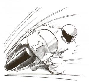 オートバイどきのメガネで視界良好走行