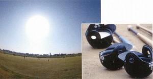 スポーツにはスポーツ競技に適したスポーツ用サングラスがあります。
