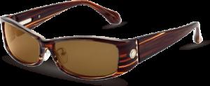 ウォーキングどきに適したおしゃれなレディース用偏光レンズ仕様のスポーツ用サングラスです。