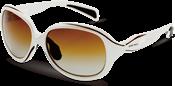 ファッション性豊かなウォーキング用サングラスデザインに偏光レンズをセットしました。