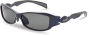 ウォーキングどきに適したスポーティな女性用偏光レンズ仕様のスポーツ用サングラスです。