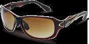 レディースタイプのスポーティな偏光レンズ仕様のトレッキングサングラスです。