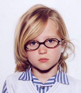 子供用のふだんメガネとスポーツメガネを兼用していただくご提案。