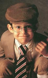 子供用のおしゃれな普段メガネとスポーツメガネを兼用していただくご提案。