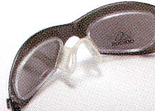 野球どきの度入りサングラス&度付きゴーグルを兼用できる野球用度付きサングラス