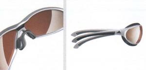 アディダスサングラスa164、a165はゴルフ時に適したスポーツ用サングラス度付きです。