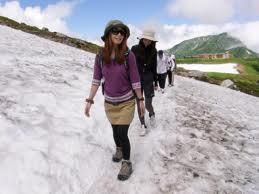 ファッション性豊かな山登り用サングラスデザインに偏光レンズをセットしました。