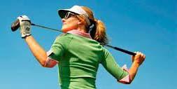 女性のゴルフ時のゴルフ用サングラスレディースデザインをご提案