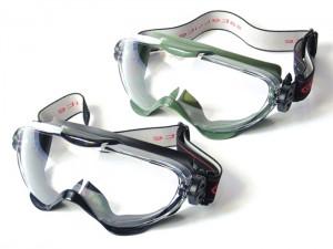 眼鏡の上から掛けるサバゲー用ゴーグル