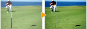 コンタクトや眼鏡を装用している方の度つきゴルフ用サングラスのご提案。