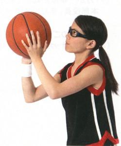 バスケットボールに適した女性用度付きゴーグルのご紹介
