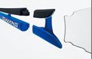スワンズサングラス SOU-M2C 双 自転車サングラスとして快適なサングラス