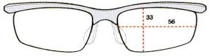 スポーツメガネには、ファッションとしてデザインした度入りスポーツメガネがあります。