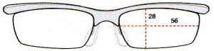 スポーツメガネには、ファッションとしてデザインした度つきスポーツメガネがあります。