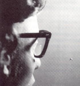 BB弾による眼鏡レンズの割れ