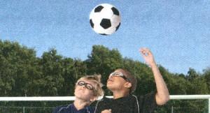 スポーツメガネ子供用サッカー