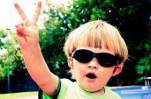 子ども達へ紫外線対策をご提案
