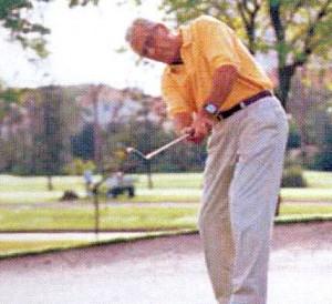 ゴルフ用遠近両用メガネ