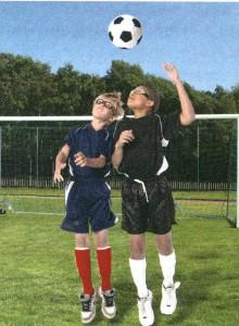 サッカーメガネ子供用