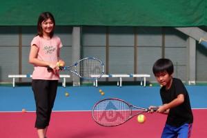 子供テニス