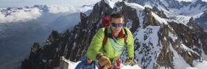 冬山の登山時に適した度入りサングラス