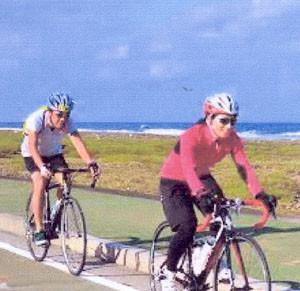 快適な自転車どきの度付きサングラス