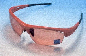 女性用度入りサングラス自転車用QUAD