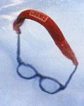 メガネ、サングラスを水に浮かすストラップ
