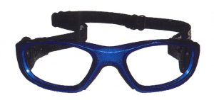 サッカー子ども度付きメガネ