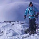 スキーと度付きゴーグル