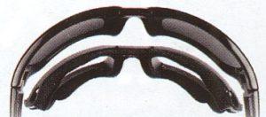 風の巻き込み対応が出来るサングラス